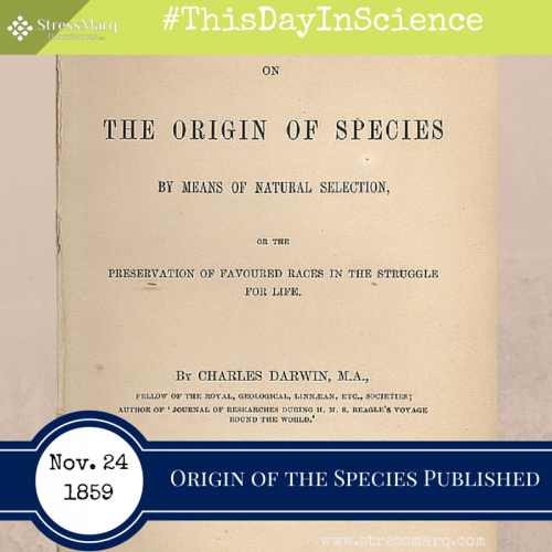 the fear of science that marred charles darwins publishing of the origin of species The publication of darwin's theory brought into the open charles darwin's theory of evolution through natural selection, the culmination of more than twenty years natural history at that time was dominated by clerical naturalists whose income came from the established church of england and who saw the science of the.