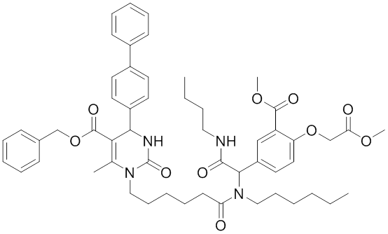 MAL3-101 Chemical Structure HSP70 Inhibitors and Modulators