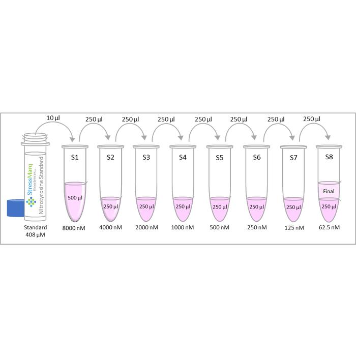 <p>Diagram of the Preparation of Nitrotyrosine Standards</p>