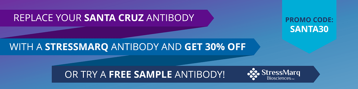 Santa Cruz Replacement Antibodies -Try a free sample or get 30% OFF a full size vial.